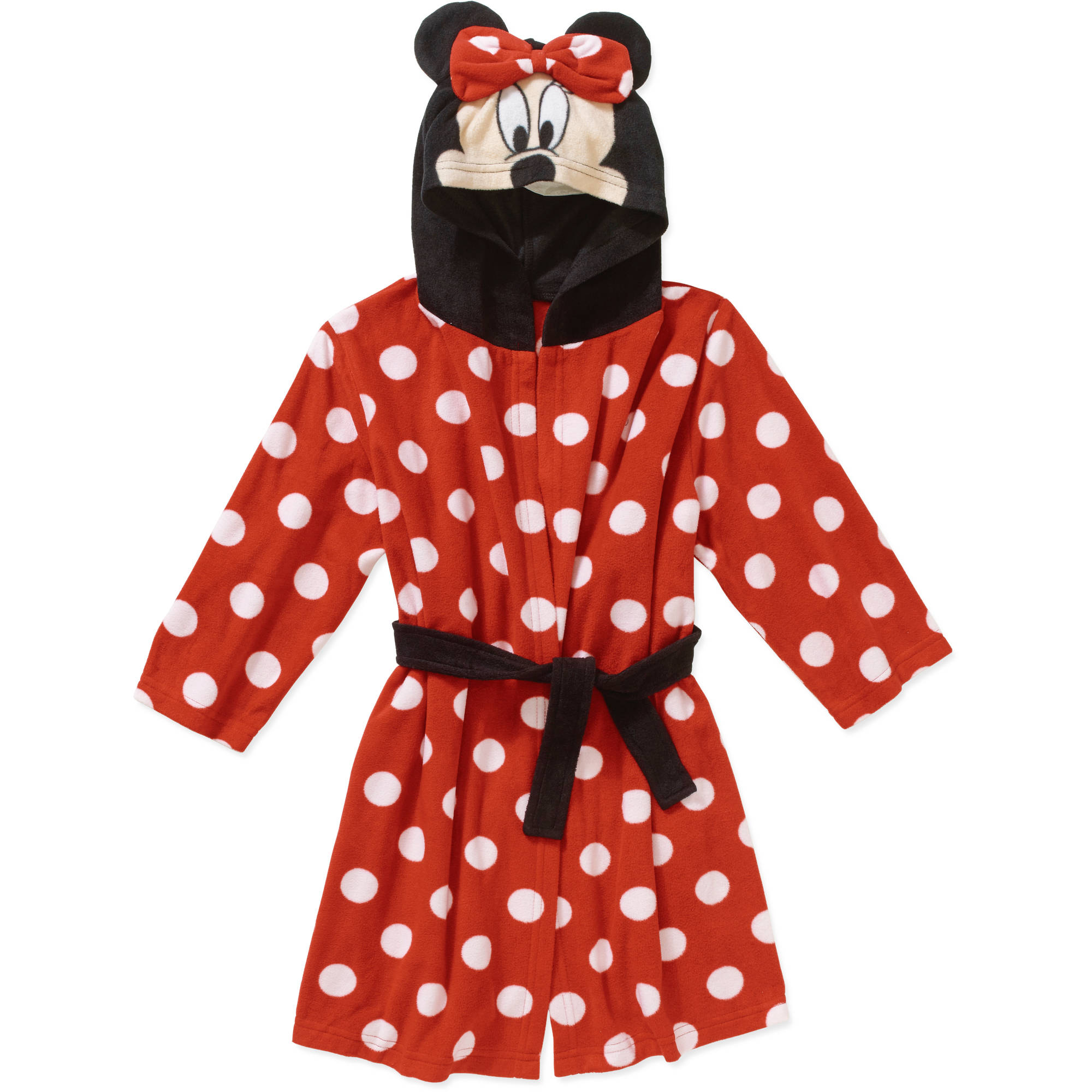 Minnie Mouse Toddler Girl Hooded Robe