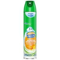 Scrubbing Bubbles Citrus Aerosol Bathroom Grime Fighter Cleaner, 25 Oz.