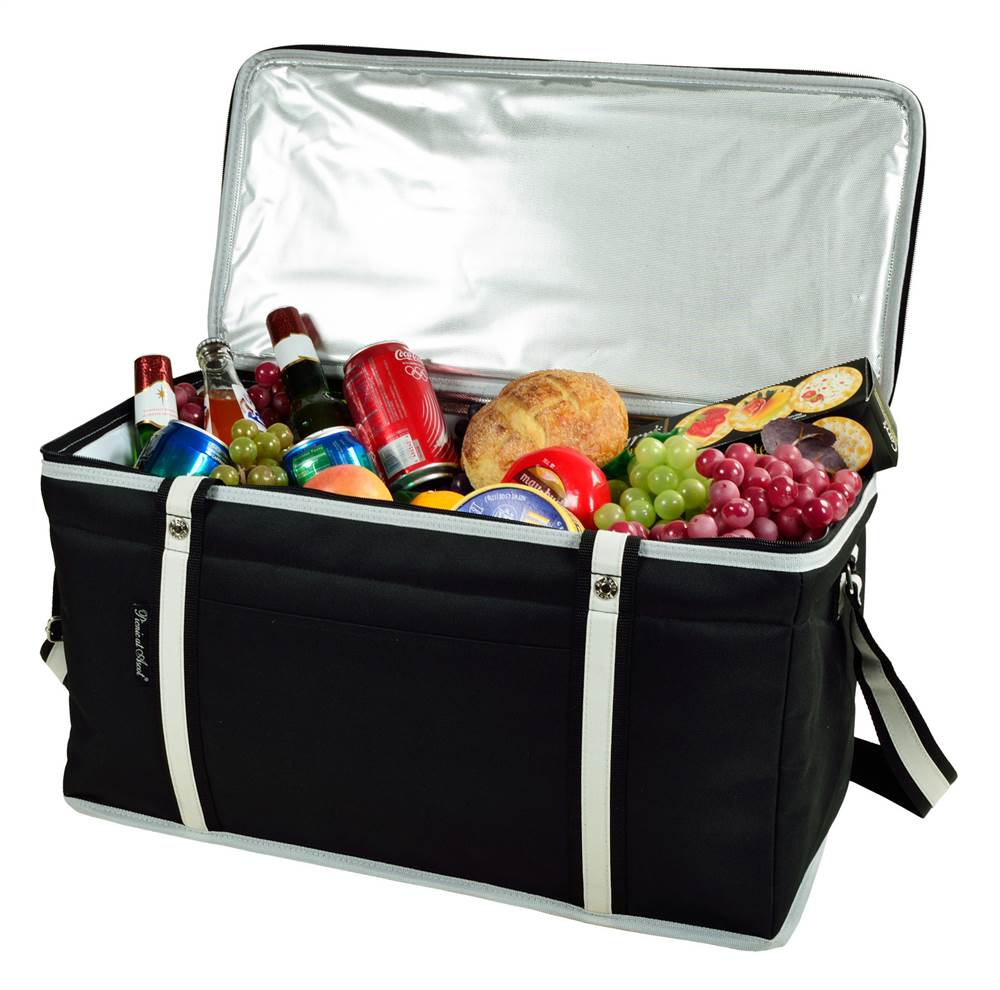 Large Folding Collapsible Cooler in Black