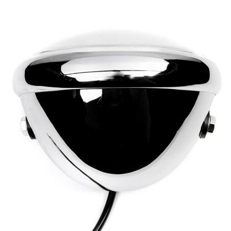 "Krator 6"" Chrome LED Motorcycle Headlight w/ Side Mounting Running Light High / Lo Beam for Harley Davidson Road King Custom Classic - image 5 of 6"