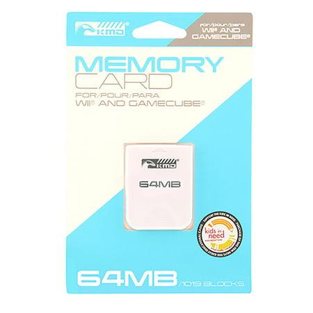 KMD 64 MB 1019 Blocks Memory Card For Nintendo Wii And GameCube (64 Mb Edo Memory)