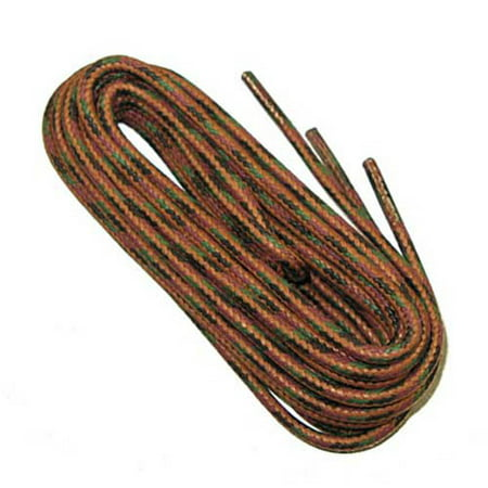 Casual Round Waxed & Water Proof Laces Quad 36