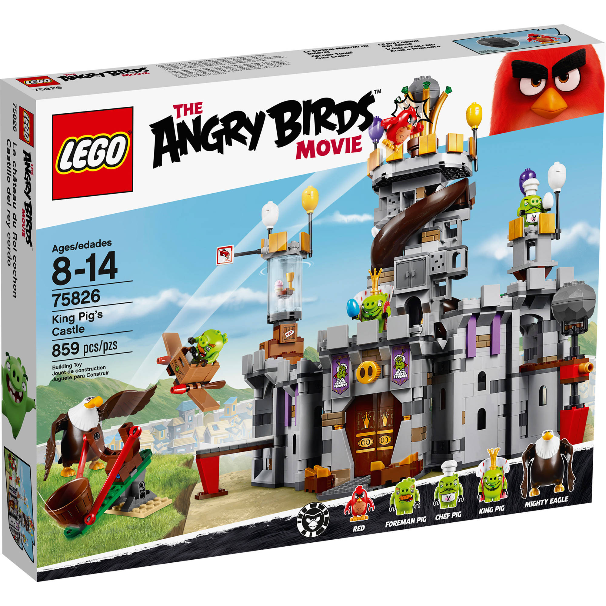 LEGO Angry Birds King Pig's Castle 75826