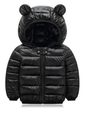 Toddler Kids Boy's Girl's Winter Warm Hooded Down Snowsuit Coat