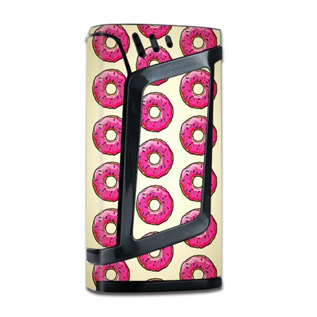 Skin Decal For Smok Alien 220W Tc Vape Mod With Grip-Guard / Pink Sprinkles Donuts
