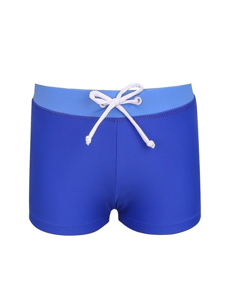 Sun Emporium Baby Boys Blue Adjustable Waistband Euroleg Swim Shorts