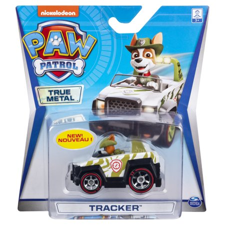 PAW Patrol Die-Cast Toy Vehicle Paw Patrol - Tracker 4X4 ATV