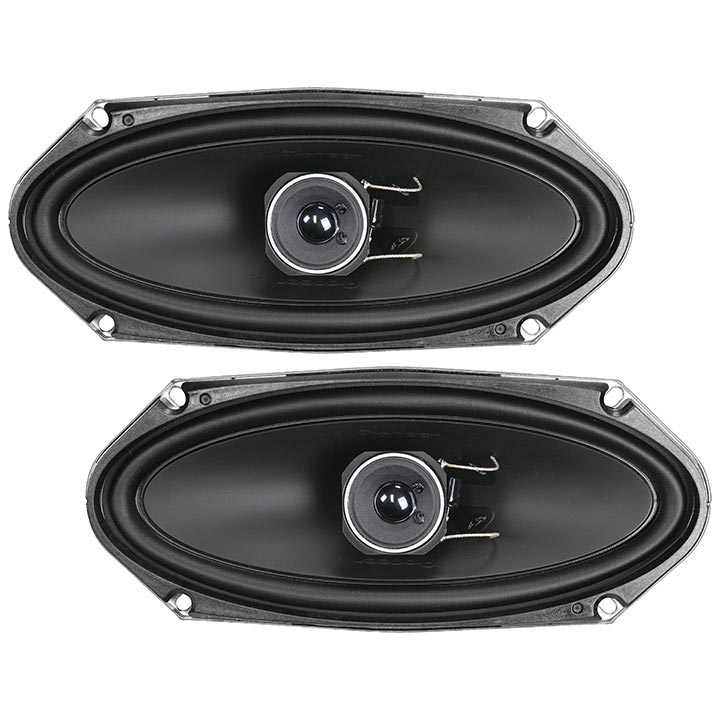 "Pioneer Ts-a4103 A-series 4"" X 10"" 120-watt 2-way Speakers"