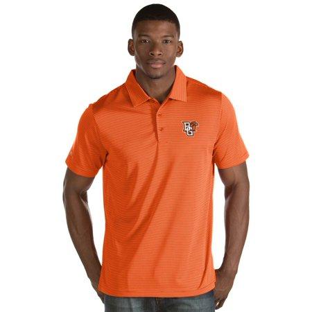 big sale 742be 22bf2 Bowling Green St. Falcons Antigua Quest Stripe Jersey Polo - Orange