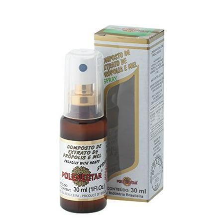 Polenectar Extrait Propolis avec du miel forme vaporisée (30ml) - 2 bouteilles