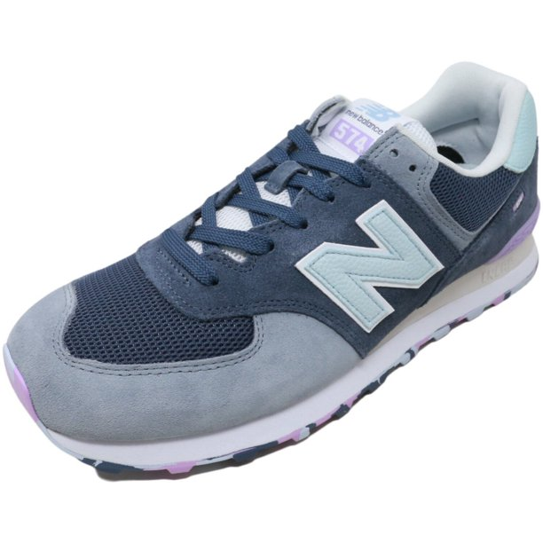New Balance - New Balance Men's 574 Marbled Street Shoes Navy with ...