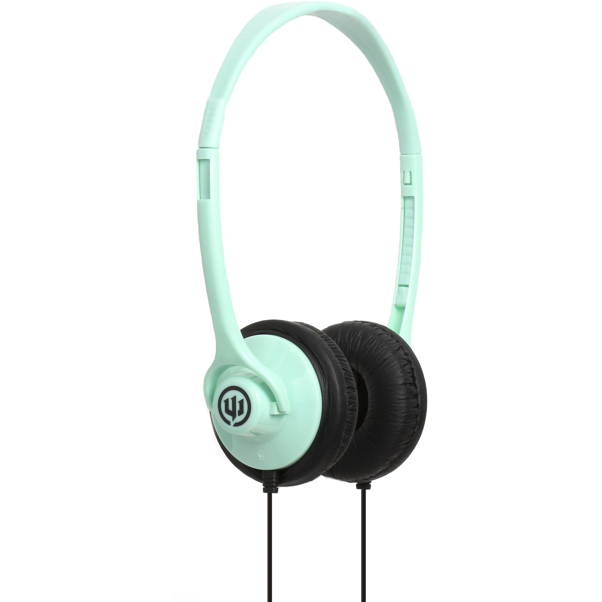 Wicked Audio WI-8003 Chill Headphones, Sea Foam Green
