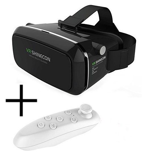 Shinecon 3D Virtual Reality Headset VR Glasses with Remot...