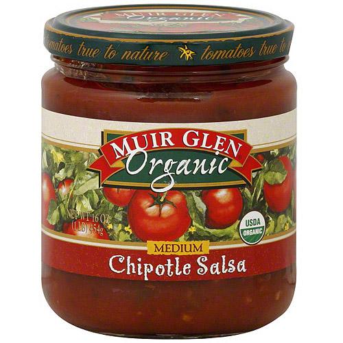 Muir Glen Medium Chipotle Salsa, 16 oz (Pack of 12)