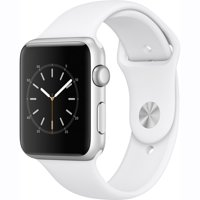 Refurbished Apple Watch Gen 2 Series 2 42mm Silver Aluminum - White Sport Band MNPJ2LL/A