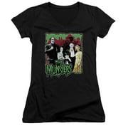 The Munsters Normal Family Juniors V-Neck Shirt