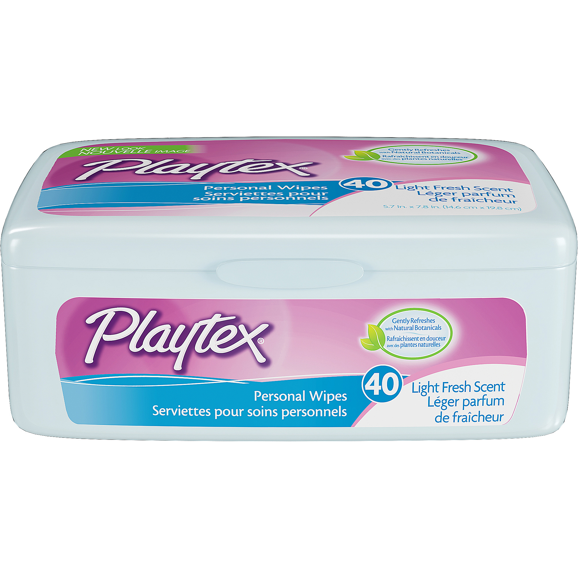 Playtex Personal Cleansing Cloths, 40ct