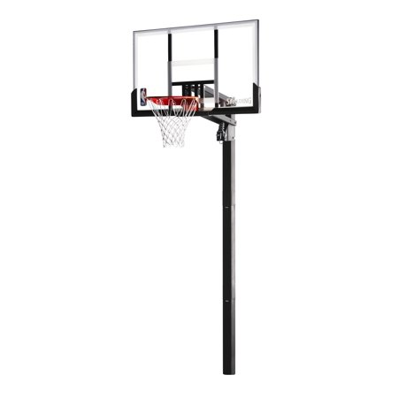 Spalding Acrylic In Ground Basketball System 54 Walmart