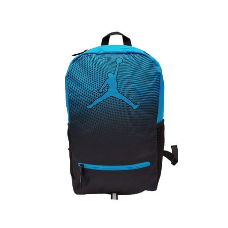 Nike Jordan Jumpman Youth School Backpack, One Size (Blue (Nike Air Jordan Retro Hoops)