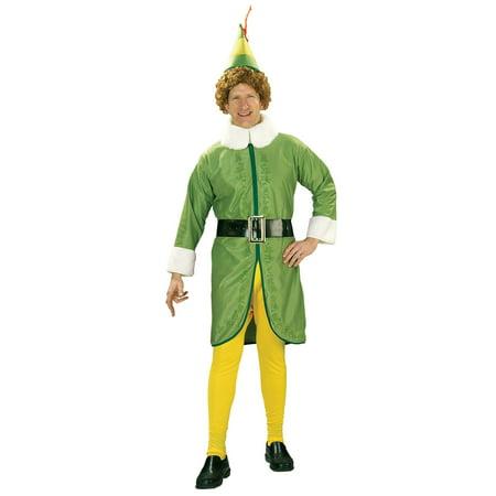 Men's Buddy the Elf Costume (Buddy The Elf Costume Halloween)