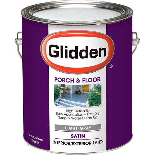 Glidden Light Grey Flat Porch and Floor, 1-Gallon