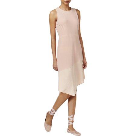 October Fest Dress (Rachel Roy Womens Mixed Media Asymmetrical Casual)