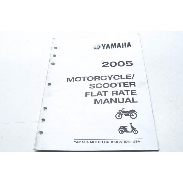 OEM Yamaha LIT-11750-00-05 Manual 05 Motorcycle/Scooter
