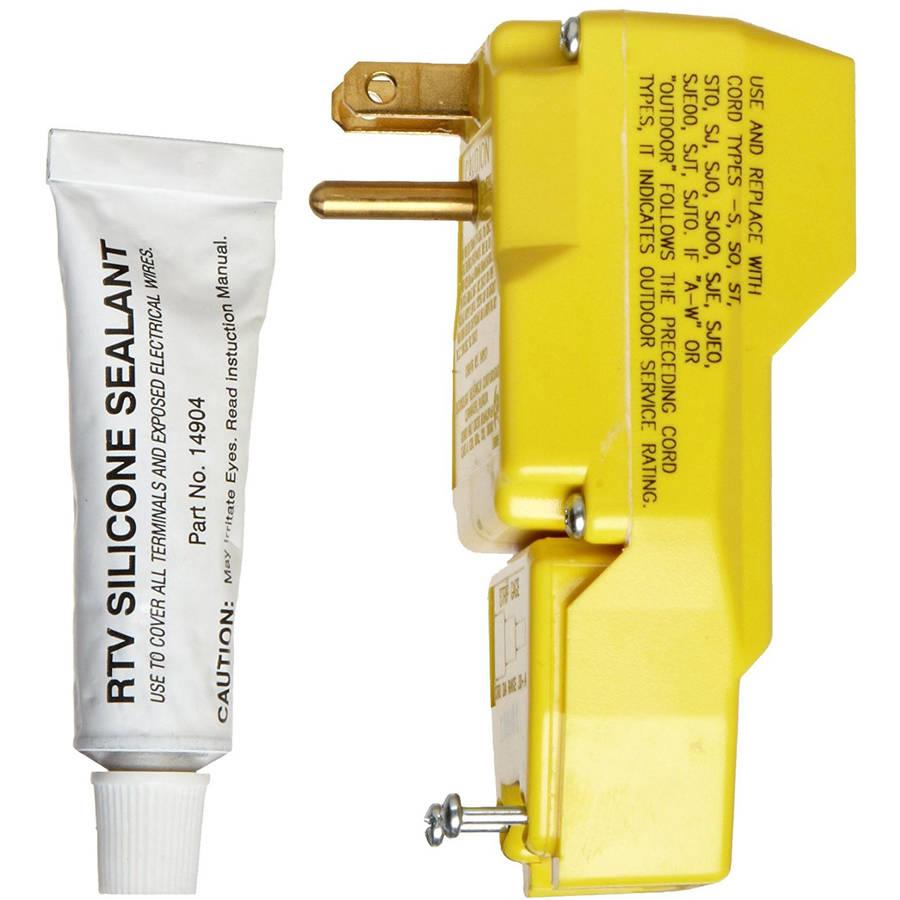 TRC 14880-002 Right Angle User Attachable Plug, 120V/15A