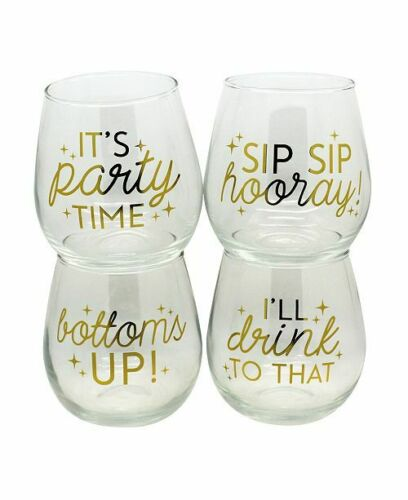 TMD Holdings Level 30oz Stemless Glass Holds a whole bottle of wine!