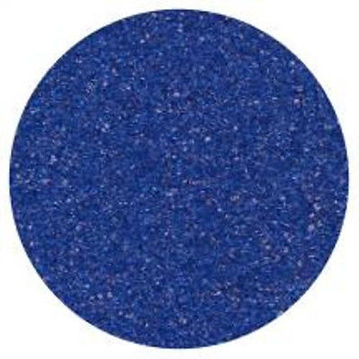 Royal Blue Sanding Sugar 4 oz - National Cake Supply