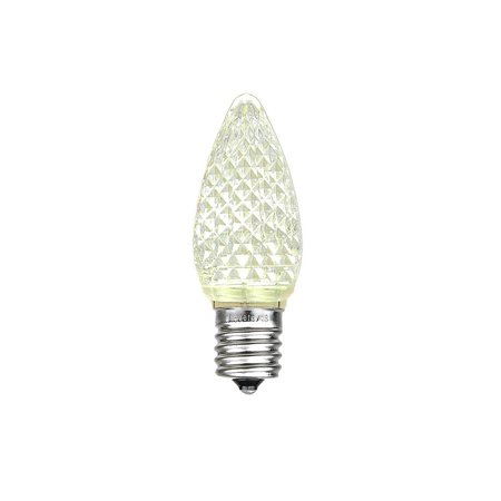 novelty lights 25 pack c7 led twinkle outdoor christmas replacement bulbs warm white c7 e12. Black Bedroom Furniture Sets. Home Design Ideas