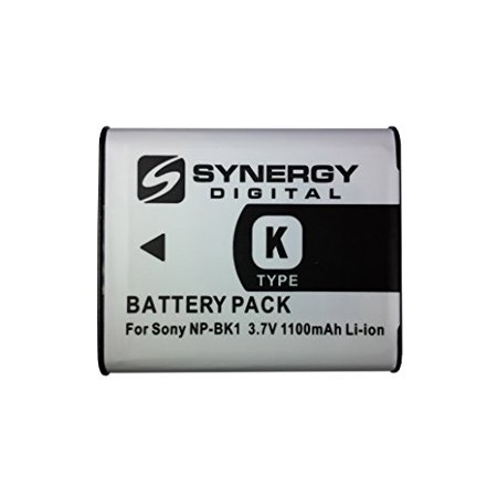 High Capacity Mag (NP-BK1 Lithium-Ion Battery - Rechargeable Ultra High Capacity (1100 mAh) - replacement for Sony NP-BK1 Battery )