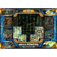 Pokemon Sun and Moon Mega Lucario Ex and Mega Manectric Ex Mega Powers Collection Trading Cards