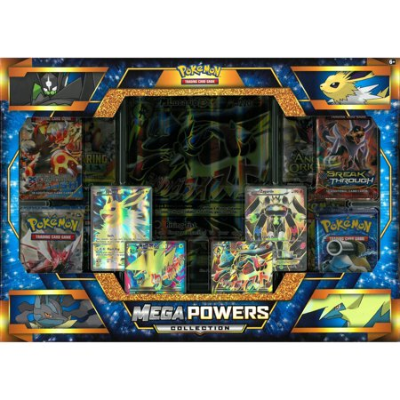 Ex Deoxys Pokemon Card - Pokemon Sun and Moon Mega Lucario Ex and Mega Manectric Ex Mega Powers Collection Trading Cards