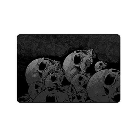 Skull Door Mat (CADecor Skull Indoor/Outdoor Doormat 23.6x15.7)