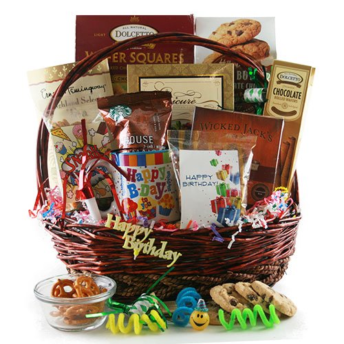 Happy Birthday Birthday Gift Basket