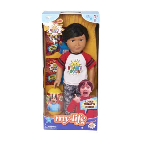 My Life As Ryan`s World 18in Doll with 7 Piece