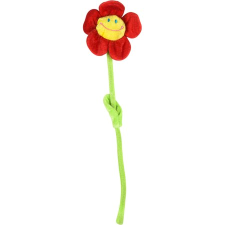 Valentine's Day Sweetheart Single Plush Fake Red Daisy Flower Costume Accessory