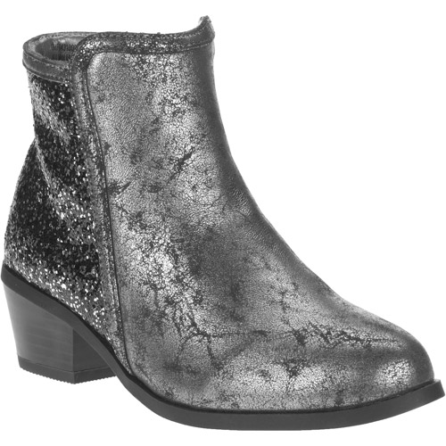 Faded Glory Girl's Cadie Glitter Western Boots