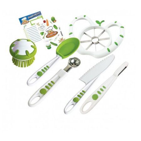 Curious Chef Fruit and Veggie Prep Kit Play Set