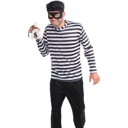 Cat Burglar Halloween Costume (Burglar Adult Halloween Costume - One)