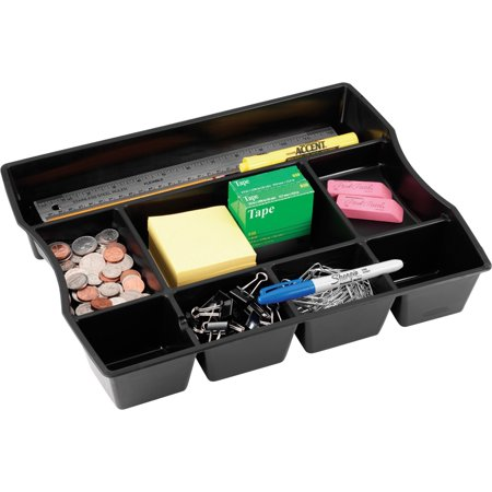 Rubbermaid Desk Accessories - Rubbermaid Regeneration Plastic Drawer Organizer