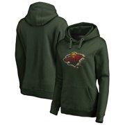 1fcc8d6dc Minnesota Wild Fanatics Branded Women s Splatter Logo Plus Size Pullover  Hoodie - Green