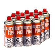 Iwatani BU-6 Butane Fuel Canister 8-Ounce Set of 12