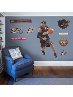 Fathead Allen Iverson: Legend - Life-Size Officially Licensed NBA Removable Wall Decal