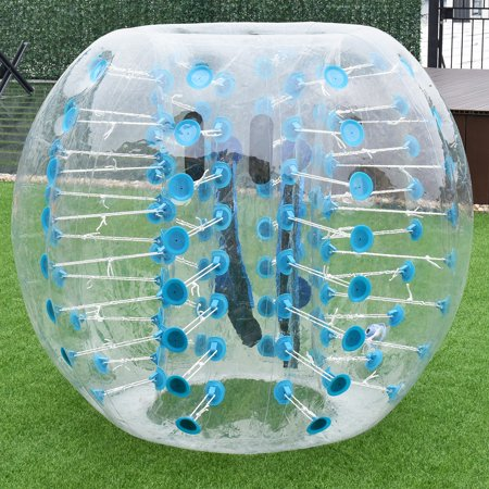 1 PC 1.5M Inflatable Bumper Ball Body Zorbing Ball Zorb Bubble Soccer/Football - image 3 de 8