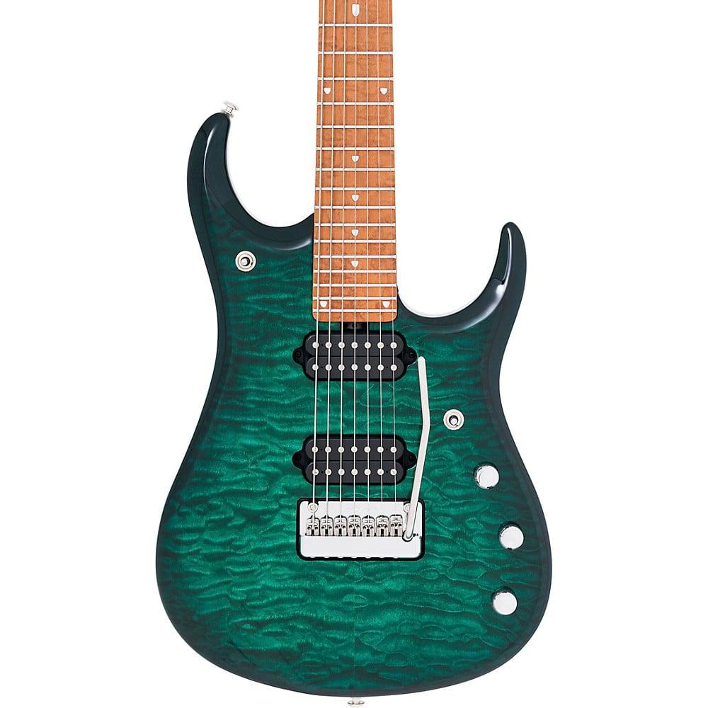 Ernie Ball Music Man John Petrucci JP15 7-String Quilt Maple Top Electric Guitar
