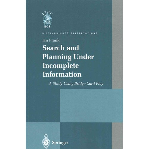 Search and Planning Under Incomplete Information: A Study Using Bridge Card Play