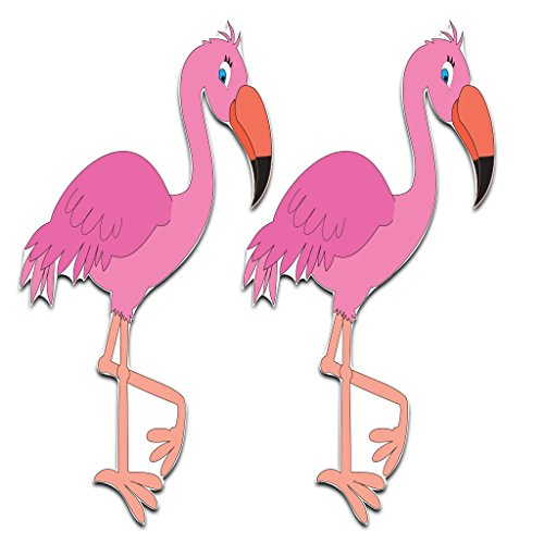 Yard Cards – Flamingo Yard Decoration - Set of 2