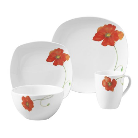 Tabletops Gallery Palermo 16 Piece Dinnerware Set, Service for 4 ...